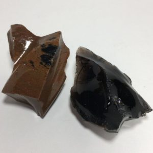 Shop Raw & Rough Mahogany Obsidian Stones! 2 Raw OBSIDIAN Crystals – Black and Mahogany – Rough Stones – Natural Volcanic Glass – Healing Crystals- Collectible Stones- From Oregon 77g | Natural genuine stones & crystals in various shapes & sizes. Buy raw cut, tumbled, or polished gemstones for making jewelry or crystal healing energy vibration raising reiki stones. #crystals #gemstones #crystalhealing #crystalsandgemstones #energyhealing #affiliate #ad