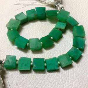 Shop Chrysoprase Chip & Nugget Beads! 22 Pieces Natural Chrysoprase,Gemstone Rough Uneven Shape Chrysoprase,Size 8-10 MM Chrysoprase Rough Stone ,Beautifull Gemstones Wholesale | Natural genuine chip Chrysoprase beads for beading and jewelry making.  #jewelry #beads #beadedjewelry #diyjewelry #jewelrymaking #beadstore #beading #affiliate #ad