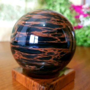 Shop Mahogany Obsidian Shapes! 30-130mm Mahogany Obsidian, Chakra, Energy Healing, Stand for FREE, Polished Crystal Sphere, Crystal Sphere, Crystal Ball, Armenian Obsidian   Natural genuine stones & crystals in various shapes & sizes. Buy raw cut, tumbled, or polished gemstones for making jewelry or crystal healing energy vibration raising reiki stones. #crystals #gemstones #crystalhealing #crystalsandgemstones #energyhealing #affiliate #ad
