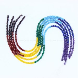 Shop Chakra Beads! 7 Chakra Beads 4mm Smooth Full String, Tiny Natural 7 Chakra Gemstone Beads, Set Chakra Beads, Rainbow Chakra Beads, Healing Yoga Beads | Shop jewelry making and beading supplies, tools & findings for DIY jewelry making and crafts. #jewelrymaking #diyjewelry #jewelrycrafts #jewelrysupplies #beading #affiliate #ad