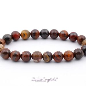 Shop Tiger Iron Bracelets! 8mm Mugglestone Tiger Eye Bracelet, Tiger Eye Bracelets 8 mm, Tiger Eye Bracelet 8 mm, Iron Tiger Eye Bead Bracelet, Tiger Eye with Hematite   Natural genuine Tiger Iron bracelets. Buy crystal jewelry, handmade handcrafted artisan jewelry for women.  Unique handmade gift ideas. #jewelry #beadedbracelets #beadedjewelry #gift #shopping #handmadejewelry #fashion #style #product #bracelets #affiliate #ad