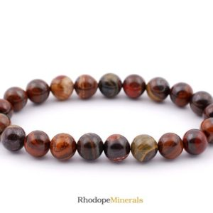 Shop Tiger Iron Bracelets! 8mm Mugglestone Tiger Eye Bracelet, Mixed Tiger Eye Bracelets, Iron Tiger Eye Bracelet, 8 mm Healing Tiger Eye Bead Bracelet, Mugglestone   Natural genuine Tiger Iron bracelets. Buy crystal jewelry, handmade handcrafted artisan jewelry for women.  Unique handmade gift ideas. #jewelry #beadedbracelets #beadedjewelry #gift #shopping #handmadejewelry #fashion #style #product #bracelets #affiliate #ad