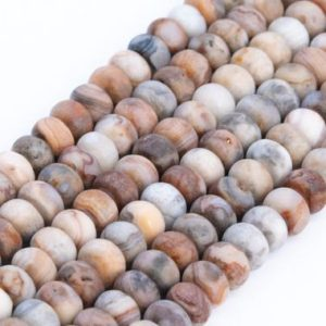 Shop Crazy Lace Agate Beads! Genuine Natural Matte Red Crazy Lace Agate Loose Beads Rondelle Shape 6x4mm 8x5mm | Natural genuine beads Agate beads for beading and jewelry making.  #jewelry #beads #beadedjewelry #diyjewelry #jewelrymaking #beadstore #beading #affiliate #ad