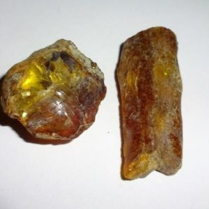 Shop Raw & Rough Amber Stones! Amber Natural Raw crystal gemstones 2pc set | Natural genuine stones & crystals in various shapes & sizes. Buy raw cut, tumbled, or polished gemstones for making jewelry or crystal healing energy vibration raising reiki stones. #crystals #gemstones #crystalhealing #crystalsandgemstones #energyhealing #affiliate #ad