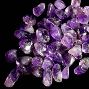 Shop Tumbled Amethyst Crystals & Pocket Stones! Brandenberg Amethyst Medium Tumbled | Natural genuine stones & crystals in various shapes & sizes. Buy raw cut, tumbled, or polished gemstones for making jewelry or crystal healing energy vibration raising reiki stones. #crystals #gemstones #crystalhealing #crystalsandgemstones #energyhealing #affiliate #ad