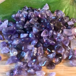Shop Amethyst Stones & Crystals! Amethyst Tumbled Chips Gift Bag jewelry making crafts crafting roller ball bottle | Natural genuine stones & crystals in various shapes & sizes. Buy raw cut, tumbled, or polished gemstones for making jewelry or crystal healing energy vibration raising reiki stones. #crystals #gemstones #crystalhealing #crystalsandgemstones #energyhealing #affiliate #ad