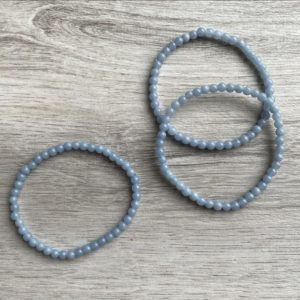 Shop Angelite Bracelets! Angelite Crystal Bracelet | Natural genuine Angelite bracelets. Buy crystal jewelry, handmade handcrafted artisan jewelry for women.  Unique handmade gift ideas. #jewelry #beadedbracelets #beadedjewelry #gift #shopping #handmadejewelry #fashion #style #product #bracelets #affiliate #ad