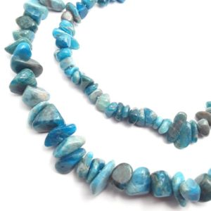 """Shop Apatite Chip & Nugget Beads! Apatite Irregular Pebble Nugget Chip Beads 10-12mm 15-18mm 15.5"""" Strand   Natural genuine chip Apatite beads for beading and jewelry making.  #jewelry #beads #beadedjewelry #diyjewelry #jewelrymaking #beadstore #beading #affiliate #ad"""