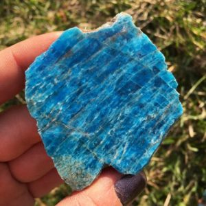 Apatite Crystal – Blue Apatite Slab – Natural Apatite – raw apatite stone – Healing crystals and stones – raw blue apatite crystal | Natural genuine stones & crystals in various shapes & sizes. Buy raw cut, tumbled, or polished gemstones for making jewelry or crystal healing energy vibration raising reiki stones. #crystals #gemstones #crystalhealing #crystalsandgemstones #energyhealing #affiliate #ad