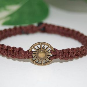Apollo Bracelet,God of the Sun,Hemp Bracelet,Macrame Bracelet,Friendship Bracelet,Man,Woman,Yoga,Protection,Meditation,Gift | Shop jewelry making and beading supplies, tools & findings for DIY jewelry making and crafts. #jewelrymaking #diyjewelry #jewelrycrafts #jewelrysupplies #beading #affiliate #ad