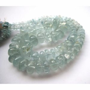 Shop Aquamarine Rondelle Beads! 2mm-20mm Aquamarine Plain Rondelle Beads, Aquamarine Rondelles Beads, Blue Aquamarine Beads For Jewelry (9IN To 18IN Options) – AQPB   Natural genuine rondelle Aquamarine beads for beading and jewelry making.  #jewelry #beads #beadedjewelry #diyjewelry #jewelrymaking #beadstore #beading #affiliate #ad