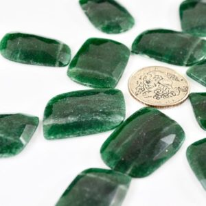 Shop Aventurine Cabochons! Rose Cut Aventurine Lot // Green Aventurine Cabochon // Gems // Cabochons // Jewelry Making Supplies / Village Silversmith | Natural genuine stones & crystals in various shapes & sizes. Buy raw cut, tumbled, or polished gemstones for making jewelry or crystal healing energy vibration raising reiki stones. #crystals #gemstones #crystalhealing #crystalsandgemstones #energyhealing #affiliate #ad
