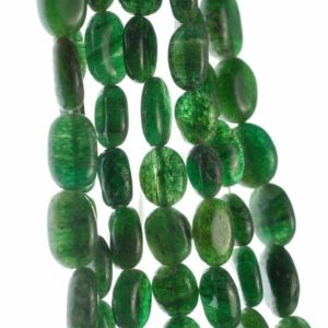 Shop Aventurine Chip & Nugget Beads! 10×7-13x10mm Green Moss Aventurine Gemstone Pebble Nugget Loose Beads 13-14 inch Full Strand (90185167-892) | Natural genuine chip Aventurine beads for beading and jewelry making.  #jewelry #beads #beadedjewelry #diyjewelry #jewelrymaking #beadstore #beading #affiliate #ad