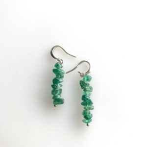 Shop Aventurine Earrings! Raw Green Aventurine Earrings, prosperity jewelry, abundance jewelry, encoruagement gift | Natural genuine Aventurine earrings. Buy crystal jewelry, handmade handcrafted artisan jewelry for women.  Unique handmade gift ideas. #jewelry #beadedearrings #beadedjewelry #gift #shopping #handmadejewelry #fashion #style #product #earrings #affiliate #ad