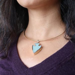 Shop Aventurine Necklaces! Aventurine Arrowhead Necklace Green Abundance Gemstone Point Gold Choker | Natural genuine Aventurine necklaces. Buy crystal jewelry, handmade handcrafted artisan jewelry for women.  Unique handmade gift ideas. #jewelry #beadednecklaces #beadedjewelry #gift #shopping #handmadejewelry #fashion #style #product #necklaces #affiliate #ad