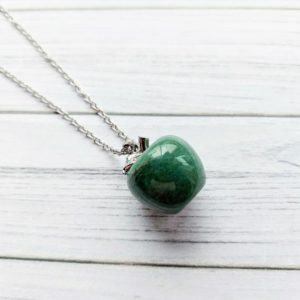 Shop Aventurine Necklaces! Green aventurine, gift for her,  green necklace, raw crystal necklace, mom gift, birthday gift, raw stone necklace, natural crystals | Natural genuine Aventurine necklaces. Buy crystal jewelry, handmade handcrafted artisan jewelry for women.  Unique handmade gift ideas. #jewelry #beadednecklaces #beadedjewelry #gift #shopping #handmadejewelry #fashion #style #product #necklaces #affiliate #ad