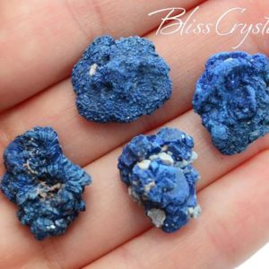 2 Blue Azurite Druzy Rough Stone Mini Cluster #AR70   Natural genuine stones & crystals in various shapes & sizes. Buy raw cut, tumbled, or polished gemstones for making jewelry or crystal healing energy vibration raising reiki stones. #crystals #gemstones #crystalhealing #crystalsandgemstones #energyhealing #affiliate #ad