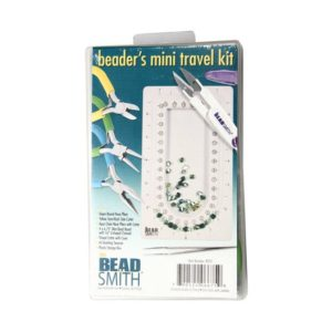 Shop Bead Boards & Trays! BeadSmith® Beader's Mini Travel Kit with Pliers Tweezers Bead Board Storage Box | Shop jewelry making and beading supplies, tools & findings for DIY jewelry making and crafts. #jewelrymaking #diyjewelry #jewelrycrafts #jewelrysupplies #beading #affiliate #ad