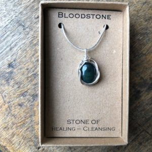 Shop Bloodstone Necklaces! Bloodstone necklace Wire Wrapped / healing stones / gemstone meanings bloodstone necklace Nevermore boutique | Natural genuine Bloodstone necklaces. Buy crystal jewelry, handmade handcrafted artisan jewelry for women.  Unique handmade gift ideas. #jewelry #beadednecklaces #beadedjewelry #gift #shopping #handmadejewelry #fashion #style #product #necklaces #affiliate #ad