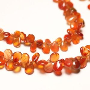 Shop Carnelian Bead Shapes! 10pc – stone beads – carnelian drops 5-8mm N1 – 8741140022751 | Natural genuine other-shape Carnelian beads for beading and jewelry making.  #jewelry #beads #beadedjewelry #diyjewelry #jewelrymaking #beadstore #beading #affiliate #ad