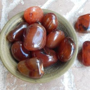 Shop Tumbled Carnelian Crystals & Pocket Stones! Tumbled Carnelian | Natural genuine stones & crystals in various shapes & sizes. Buy raw cut, tumbled, or polished gemstones for making jewelry or crystal healing energy vibration raising reiki stones. #crystals #gemstones #crystalhealing #crystalsandgemstones #energyhealing #affiliate #ad
