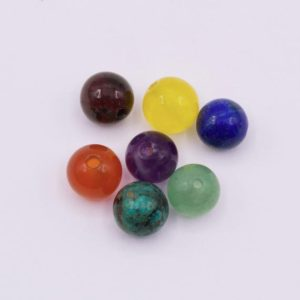 Shop Chakra Beads! Ch02 ~ Chakra Beads (6mm) ~ 7 / pkg | Shop jewelry making and beading supplies, tools & findings for DIY jewelry making and crafts. #jewelrymaking #diyjewelry #jewelrycrafts #jewelrysupplies #beading #affiliate #ad