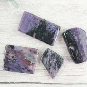 Shop Charoite Stones & Crystals! Charoite Tumbled Stones, Reiki Infused Crystal Slice, Wire Wrapping Self Care Healing Stones   Natural genuine stones & crystals in various shapes & sizes. Buy raw cut, tumbled, or polished gemstones for making jewelry or crystal healing energy vibration raising reiki stones. #crystals #gemstones #crystalhealing #crystalsandgemstones #energyhealing #affiliate #ad
