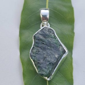 Shop Diopside Pendants! Chrome diopside abstract shape sterling silver pendant,925 purity,natural rough gemstone,33*20*6mm approx size,gift jewelry,light weight | Natural genuine Diopside pendants. Buy crystal jewelry, handmade handcrafted artisan jewelry for women.  Unique handmade gift ideas. #jewelry #beadedpendants #beadedjewelry #gift #shopping #handmadejewelry #fashion #style #product #pendants #affiliate #ad