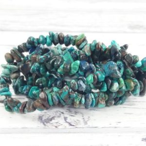Shop Chrysocolla Chip & Nugget Beads! Chrysocolla Gemstone Beads, Crystal Chips Bag Of 50 Pieces, Reiki Infused A Extra Grade Chrysocolla Beads | Natural genuine chip Chrysocolla beads for beading and jewelry making.  #jewelry #beads #beadedjewelry #diyjewelry #jewelrymaking #beadstore #beading #affiliate #ad