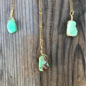 Shop Chrysoprase Jewelry! Chakra Jewelry / Chrysoprase Necklace / Chrysoprase Pendant / Boho Necklace / Reiki Jewelry / Chrysoprase Jewelry / Gold Filled | Natural genuine Chrysoprase jewelry. Buy crystal jewelry, handmade handcrafted artisan jewelry for women.  Unique handmade gift ideas. #jewelry #beadedjewelry #beadedjewelry #gift #shopping #handmadejewelry #fashion #style #product #jewelry #affiliate #ad