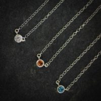 Citrine And Sterling Tinsel Necklace – Ready To Ship | Natural genuine Gemstone jewelry. Buy crystal jewelry, handmade handcrafted artisan jewelry for women.  Unique handmade gift ideas. #jewelry #beadedjewelry #beadedjewelry #gift #shopping #handmadejewelry #fashion #style #product #jewelry #affiliate #ad