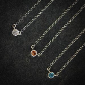 Shop Citrine Necklaces! Citrine  and Sterling Tinsel Necklace – Ready to Ship | Natural genuine Citrine necklaces. Buy crystal jewelry, handmade handcrafted artisan jewelry for women.  Unique handmade gift ideas. #jewelry #beadednecklaces #beadedjewelry #gift #shopping #handmadejewelry #fashion #style #product #necklaces #affiliate #ad