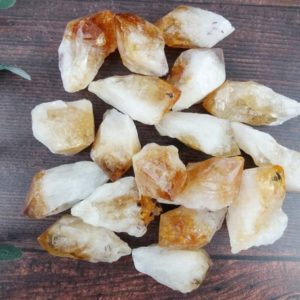 Shop Citrine Stones & Crystals! Citrine Point, Reiki Infused Rough Crystal Point, Self Care Metaphysical Gift | Natural genuine stones & crystals in various shapes & sizes. Buy raw cut, tumbled, or polished gemstones for making jewelry or crystal healing energy vibration raising reiki stones. #crystals #gemstones #crystalhealing #crystalsandgemstones #energyhealing #affiliate #ad