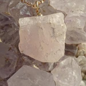 Shop Morganite Necklaces! Dainty raw morganite necklace,rough morganite necklace,raw crystal necklace,chakra reiki,wicca wiccan,pagan,pink emerald,rocks gems minerals | Natural genuine Morganite necklaces. Buy crystal jewelry, handmade handcrafted artisan jewelry for women.  Unique handmade gift ideas. #jewelry #beadednecklaces #beadedjewelry #gift #shopping #handmadejewelry #fashion #style #product #necklaces #affiliate #ad