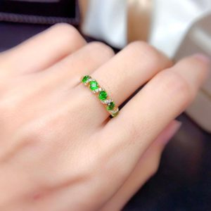 Shop Diopside Rings! Chrome Diopside Band Ring | Multi Green Stones Ring | Handmade Diopside Stacking Ring | Gold Plated Ring | Diopside Jewelry | Dainty Gift | Natural genuine Diopside rings, simple unique handcrafted gemstone rings. #rings #jewelry #shopping #gift #handmade #fashion #style #affiliate #ad