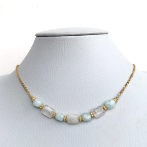 Shop Morganite Necklaces! Elegant Morganite Necklace, 14K Gold filled/Sterling Silver/Stainless Steel chain, Handmade, Daily wear, bridesmaid gifts, Free Shipping | Natural genuine Morganite necklaces. Buy crystal jewelry, handmade handcrafted artisan jewelry for women.  Unique handmade gift ideas. #jewelry #beadednecklaces #beadedjewelry #gift #shopping #handmadejewelry #fashion #style #product #necklaces #affiliate #ad