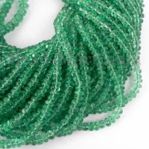 Shop Emerald Rondelle Beads! Colombian Emerald Beads, Colombian Emerald Smooth Beads, Emerald Rondelle Beads, Emerald Beads, Emerald Plain Rondelle Beads, Emerald Smooth | Natural genuine rondelle Emerald beads for beading and jewelry making.  #jewelry #beads #beadedjewelry #diyjewelry #jewelrymaking #beadstore #beading #affiliate #ad