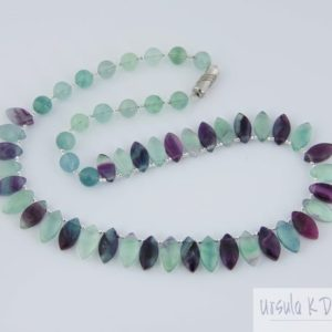 Shop Fluorite Necklaces! Fluorite necklace, Fine Gemstone Jewelry, Elegant Affordable Gift | Natural genuine Fluorite necklaces. Buy crystal jewelry, handmade handcrafted artisan jewelry for women.  Unique handmade gift ideas. #jewelry #beadednecklaces #beadedjewelry #gift #shopping #handmadejewelry #fashion #style #product #necklaces #affiliate #ad
