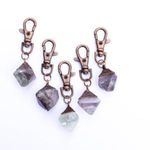 Shop Fluorite Stones & Crystals! Fluorite keychain | Raw crystal keychain | Fluorite crystal key clip | Raw Fluorite Keychain | Natural genuine stones & crystals in various shapes & sizes. Buy raw cut, tumbled, or polished gemstones for making jewelry or crystal healing energy vibration raising reiki stones. #crystals #gemstones #crystalhealing #crystalsandgemstones #energyhealing #affiliate #ad