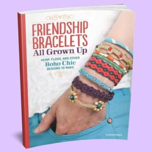 Friendship Bracelets All Grown Up Book – Friendship Bracelets Book – Diy Bracelet Making Book – Jewelry Making Book | Shop jewelry making and beading supplies, tools & findings for DIY jewelry making and crafts. #jewelrymaking #diyjewelry #jewelrycrafts #jewelrysupplies #beading #affiliate #ad