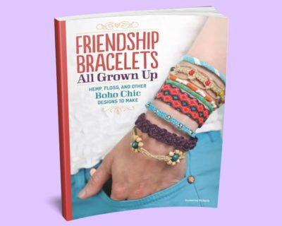 Shop Books About Hemp Jewelry Making! Friendship Bracelets All Grown Up Book – Friendship Bracelets Book – DIY Bracelet Making Book – Jewelry Making Book | Shop jewelry making and beading supplies, tools & findings for DIY jewelry making and crafts. #jewelrymaking #diyjewelry #jewelrycrafts #jewelrysupplies #beading #affiliate #ad