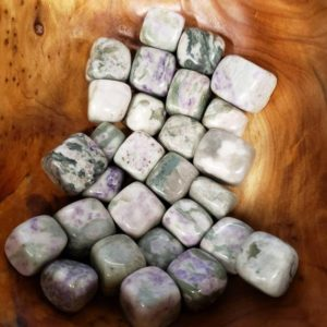 Shop Tumbled Jade Crystals & Pocket Stones! Fu Lu Shou Jadeite (Lucky Jade) Tumbles | Natural genuine stones & crystals in various shapes & sizes. Buy raw cut, tumbled, or polished gemstones for making jewelry or crystal healing energy vibration raising reiki stones. #crystals #gemstones #crystalhealing #crystalsandgemstones #energyhealing #affiliate #ad