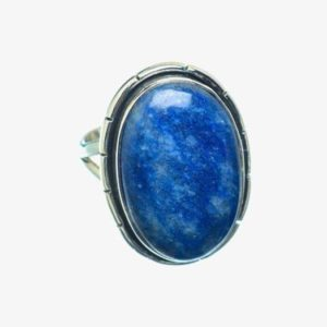 Shop Sodalite Rings! Gift Sodalite Ring, 925 Sterling Silver, Artisan Ring, Gemstone Jewelry, Blue Color, Oval Shape, Silver Band Ring, Simple Ring, Gift   Natural genuine Sodalite rings, simple unique handcrafted gemstone rings. #rings #jewelry #shopping #gift #handmade #fashion #style #affiliate #ad