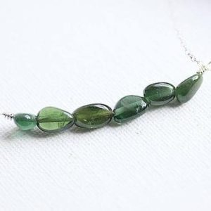 Shop Diopside Necklaces! Green Diopside Necklace – Diopside Stone – Green Necklace – May Birthstone Necklace – Diopside bead chips – Crystal necklace – Gift for her | Natural genuine Diopside necklaces. Buy crystal jewelry, handmade handcrafted artisan jewelry for women.  Unique handmade gift ideas. #jewelry #beadednecklaces #beadedjewelry #gift #shopping #handmadejewelry #fashion #style #product #necklaces #affiliate #ad