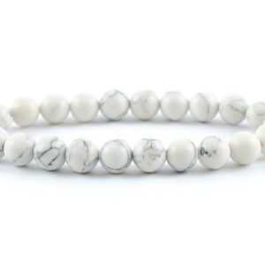 Shop Howlite Bracelets! Howlite Bracelet, Minerals Howlite Bracelet, Crystals Howlite Bracelet, Gemstones Howlite Bracelet, 8 mm Bead Howlite Bracelet, Gift | Natural genuine Howlite bracelets. Buy crystal jewelry, handmade handcrafted artisan jewelry for women.  Unique handmade gift ideas. #jewelry #beadedbracelets #beadedjewelry #gift #shopping #handmadejewelry #fashion #style #product #bracelets #affiliate #ad