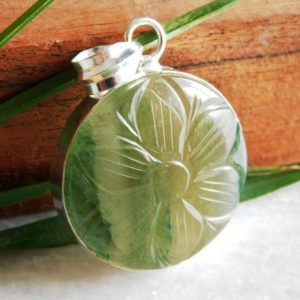 Shop Jade Pendants! Carving Nephrite jade pendant,Sterling silver pendant,carving gemstone pendant, Birthstone Pendant,carving stone pendant,jade pendant, P-404 | Natural genuine Jade pendants. Buy crystal jewelry, handmade handcrafted artisan jewelry for women.  Unique handmade gift ideas. #jewelry #beadedpendants #beadedjewelry #gift #shopping #handmadejewelry #fashion #style #product #pendants #affiliate #ad