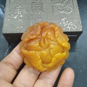 Shop Jade Pendants! Natural HuangLong Jade Pendant Hand Carving Peony Flowers Bloom Blessing Riches | Natural genuine Jade pendants. Buy crystal jewelry, handmade handcrafted artisan jewelry for women.  Unique handmade gift ideas. #jewelry #beadedpendants #beadedjewelry #gift #shopping #handmadejewelry #fashion #style #product #pendants #affiliate #ad