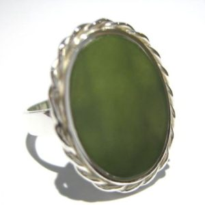 Shop Jade Rings! jade ring silver 925%   Natural genuine Jade rings, simple unique handcrafted gemstone rings. #rings #jewelry #shopping #gift #handmade #fashion #style #affiliate #ad