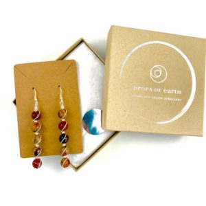 Shop Jasper Earrings! Picasso Jasper earrings, Bohemian Earrings, Abstract earrings, Statement earrings, Sterling silver | Natural genuine Jasper earrings. Buy crystal jewelry, handmade handcrafted artisan jewelry for women.  Unique handmade gift ideas. #jewelry #beadedearrings #beadedjewelry #gift #shopping #handmadejewelry #fashion #style #product #earrings #affiliate #ad