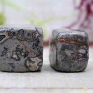 Shop Jasper Stones & Crystals! Tumbled Picasso Jasper Polished Stone | Natural genuine stones & crystals in various shapes & sizes. Buy raw cut, tumbled, or polished gemstones for making jewelry or crystal healing energy vibration raising reiki stones. #crystals #gemstones #crystalhealing #crystalsandgemstones #energyhealing #affiliate #ad